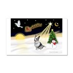 Night Flight/Corgi (BM) Car Magnet 20 x 12