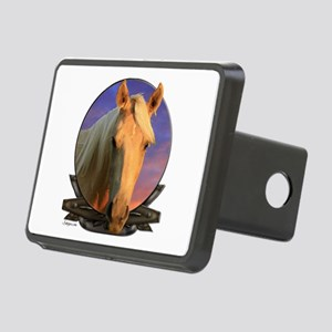 Palomino horse Rectangular Hitch Cover