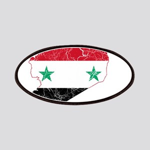 Syria Flag And Map Patches