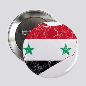 "Syria Flag And Map 2.25"" Button"