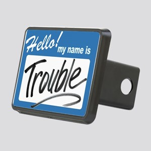hello adult trouble Rectangular Hitch Cover