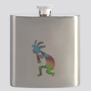One Kokopelli #5 Flask