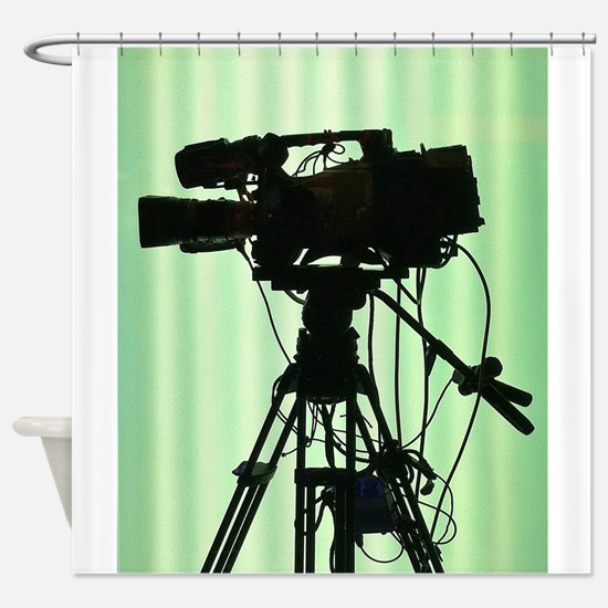 Camera! Shower Curtain