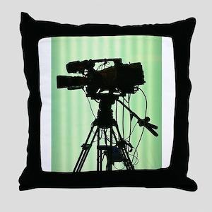 Camera! Throw Pillow