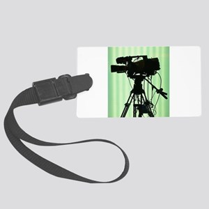 Camera! Large Luggage Tag
