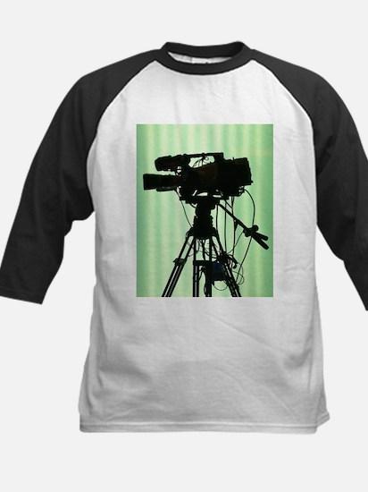Camera! Kids Baseball Jersey