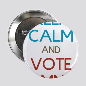 """Keep Calm and Vote Romney 2.25"""" Button"""