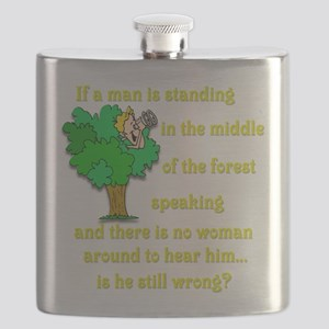 Is he still wrong? Flask