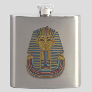 King Tut Mask #2 Flask