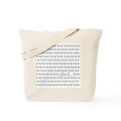 LOVED Tote Bag