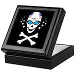 Lil' Swim'n Skully Keepsake Box
