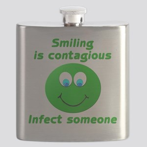 Smiling is contagious #3 Flask