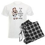 Jesus Sausage Men's Light Pajamas