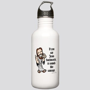 Jesus Sausage Stainless Water Bottle 1.0L