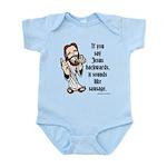 Jesus Sausage Infant Bodysuit