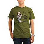 Jesus Sausage Organic Men's T-Shirt (dark)
