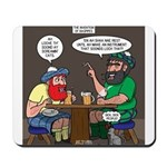 Origin of Bagpipes Mousepad