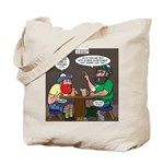 Origin of Bagpipes Tote Bag