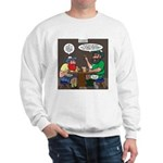 Origin of Bagpipes Sweatshirt