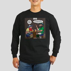 Origin of Bagpipes Long Sleeve Dark T-Shirt