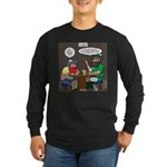 Origin of Bagpipes Long Sleeve Dark T-Shirt