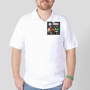 Origin of Bagpipes Golf Shirt