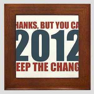 Keep the Change 2012 Framed Tile