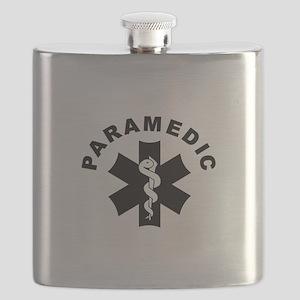 Paramedic Star Of Life Flask
