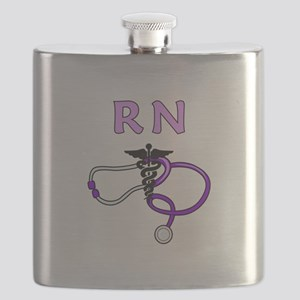 RN Nurse Medical Flask