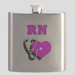 RN Nurses Care Flask