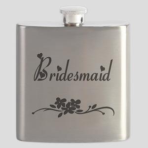 bridesmaid mug Flask