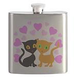 Kitty Cat Love Flask