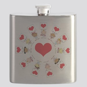 hearts around the world Flask