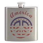 american peace Flask