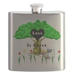 love is green Flask