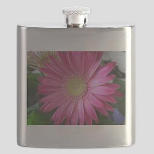 Pink Daisy Princess Flask