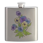 Flowers of Spring Flask