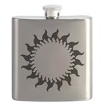 Sunny Flames Flask
