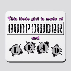 Gunpowder & lead Mousepad