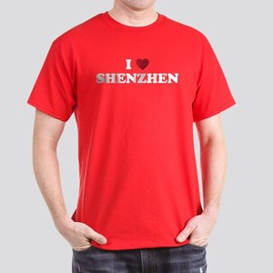 I Love Shenzhen Dark T-Shirt