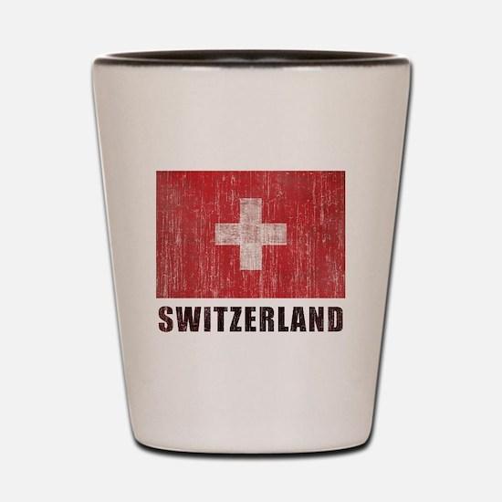 Vintage Switzerland Shot Glass
