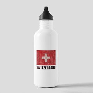 Vintage Switzerland Stainless Water Bottle 1.0L