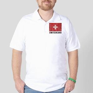 Vintage Switzerland Golf Shirt