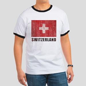 Vintage Switzerland Ringer T