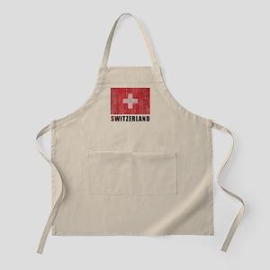 Vintage Switzerland Apron