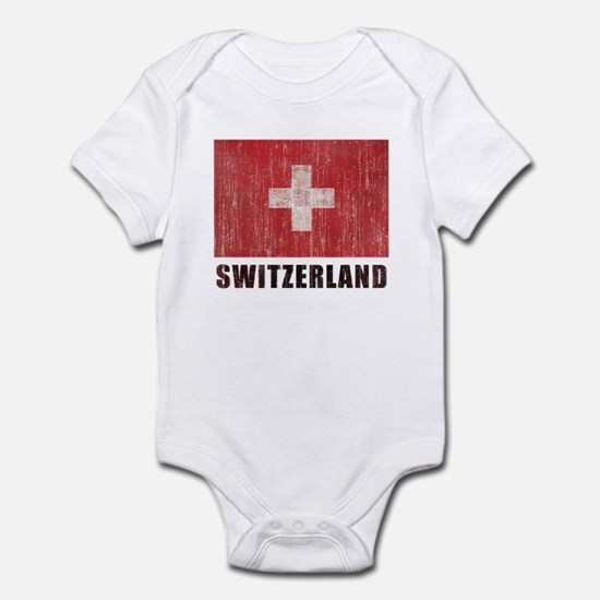 Vintage Switzerland Infant Bodysuit