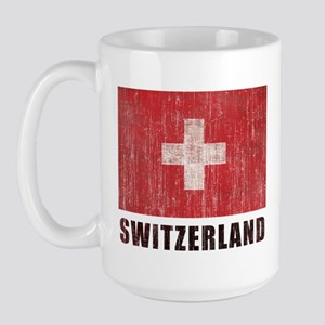 Vintage Switzerland Large Mug