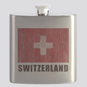 Vintage Switzerland Flask