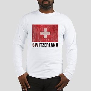 Vintage Switzerland Long Sleeve T-Shirt