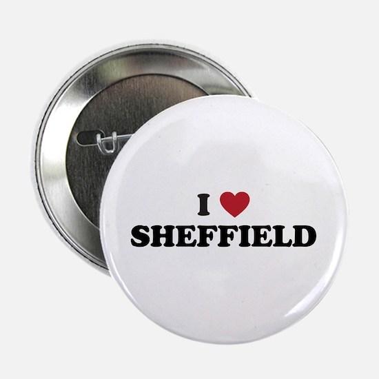 "I Love Sheffield 2.25"" Button"